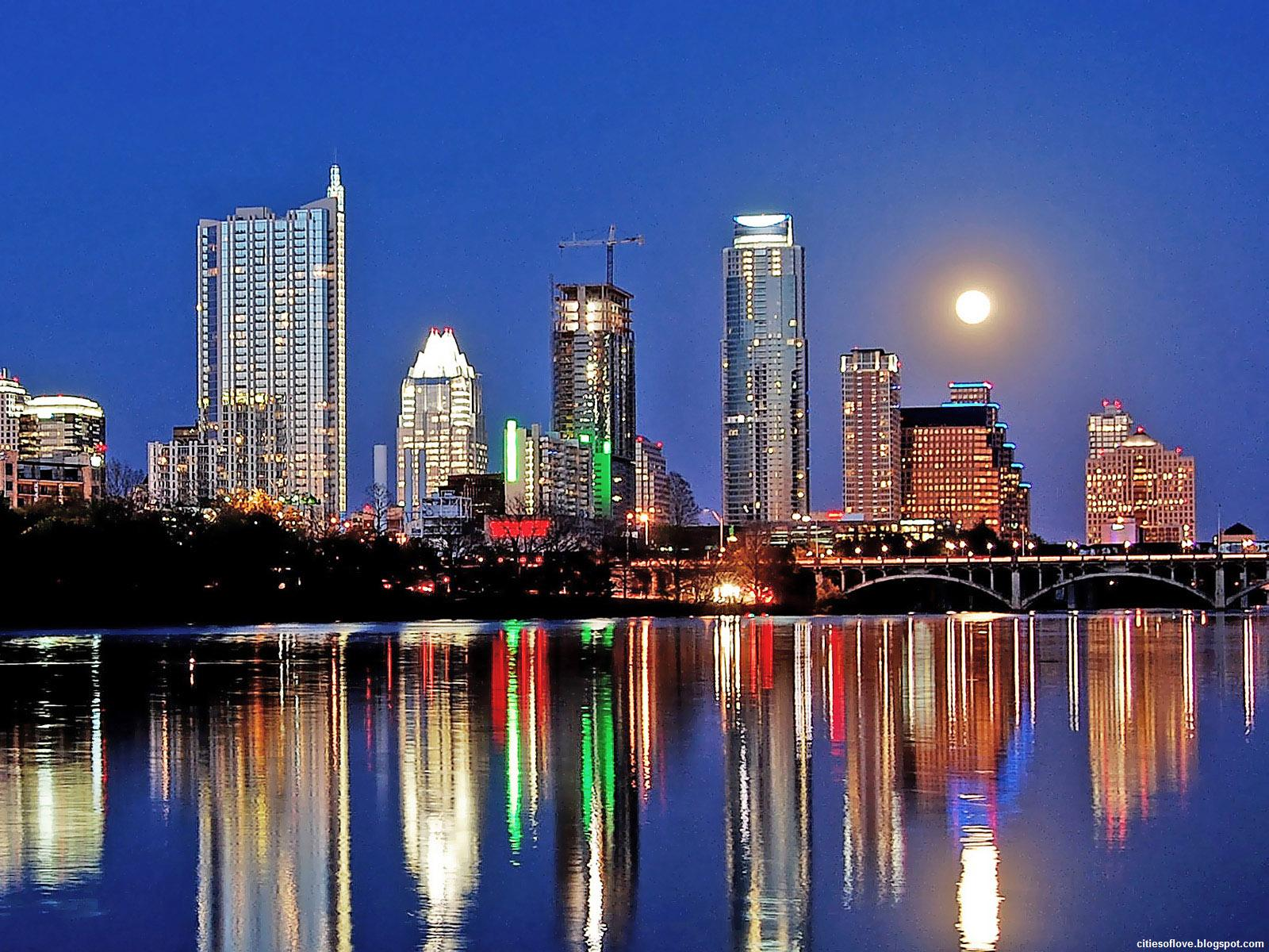 Austin (TX) United States  City new picture : Austin City Skyline Beautiful Lady Bird Lake Texas United States Hd ...