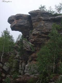 скалы урала
