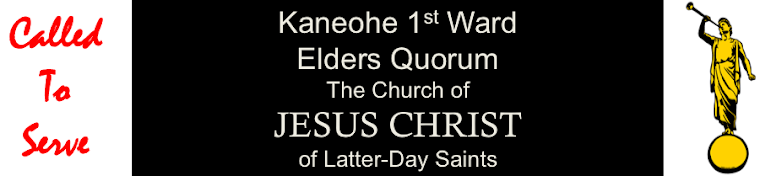 Kaneohe 1st Ward Elders Quorum