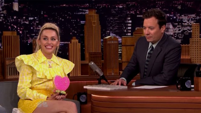 Miley Cyrus on 'The Tonight Show'