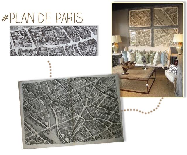 carte ancien plan de paris