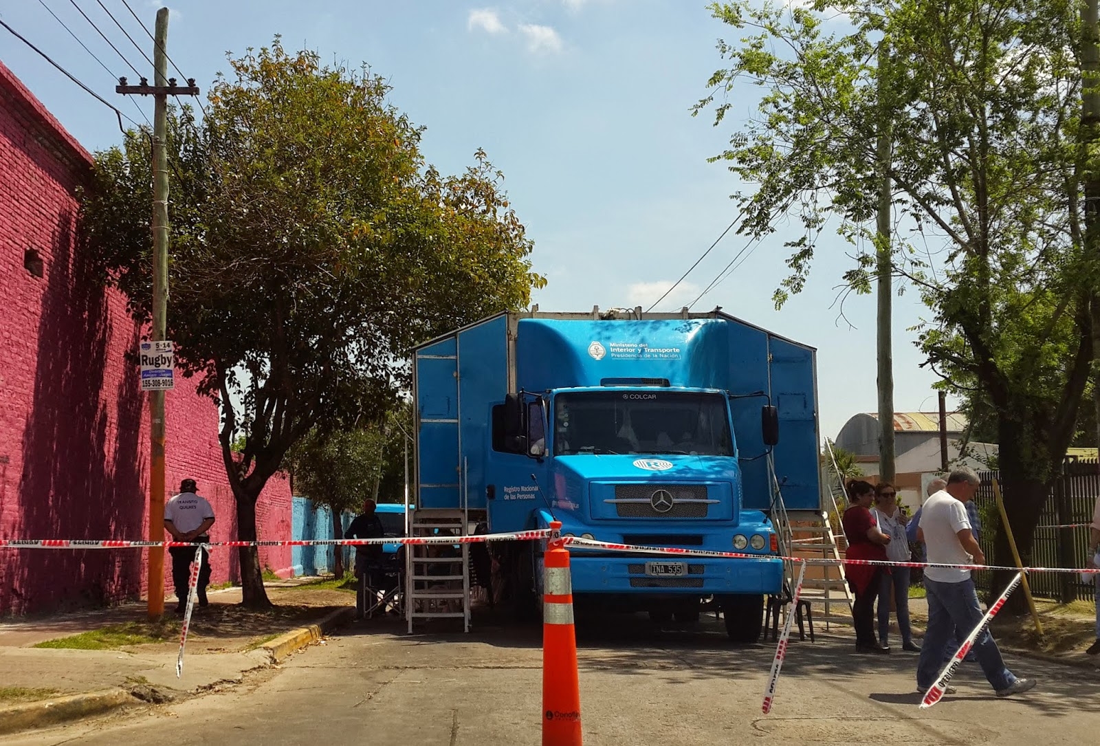 Operativo de documentaci n en quilmes quilmes hoy for Ministerio del interior dni