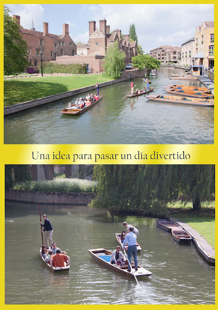 diversión en Cambridge