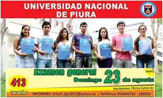 UNP Ingresantes Universidad Nacional de Piura UNP 2015 23 de agosto