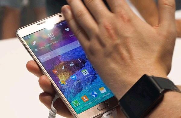 3 cách chụp ảnh màn hình trên Samsung Galaxy Note 4