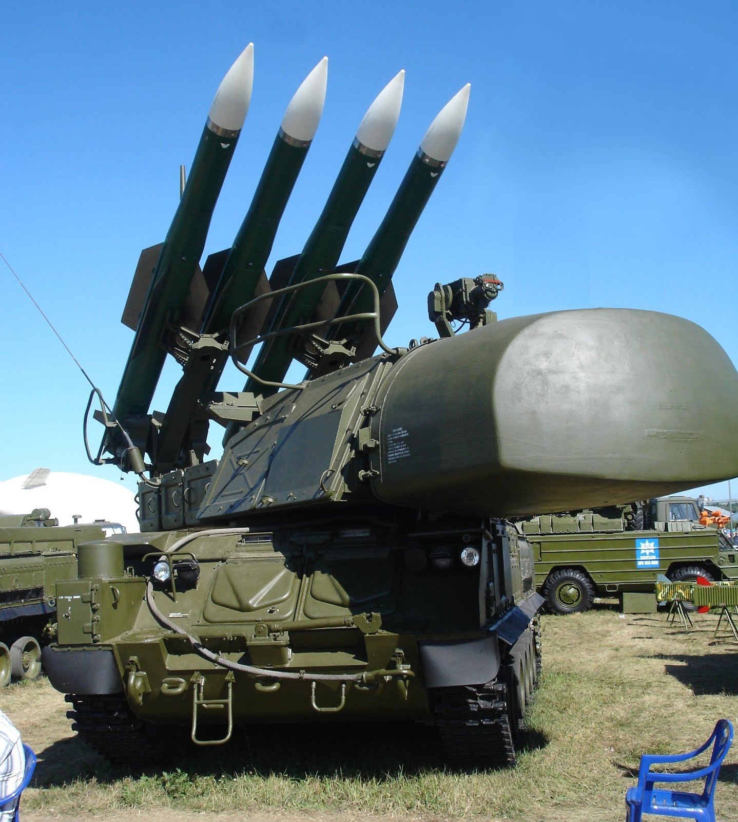 Syria has received a division of anti-aircraft missile system S-300 55