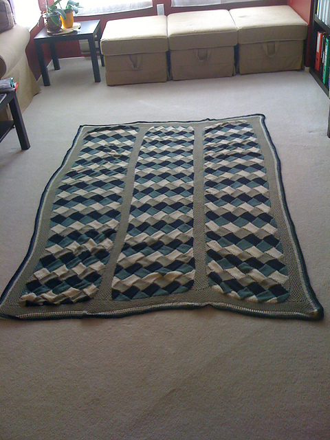 enterlac knitting pattern afghan