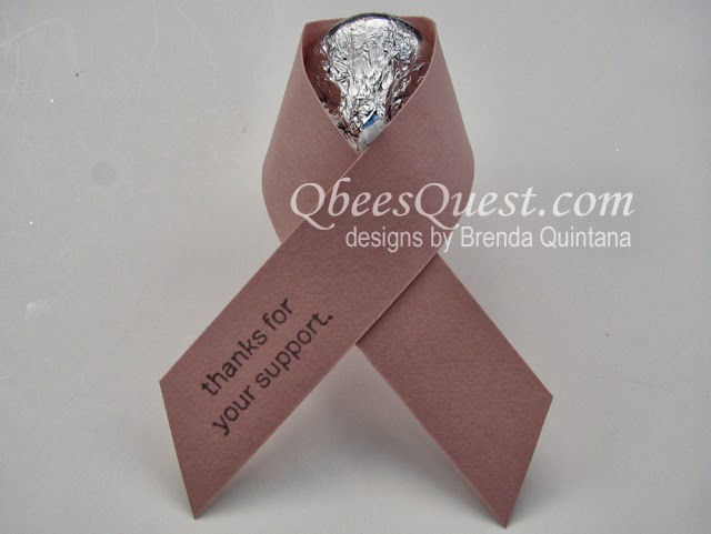 hershey kisses for breast cancer