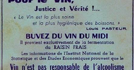 Aux grands vins de france propagande sur le vin et loi evin ne font pas bon m nage - Comment faire du vinaigre de vin ...