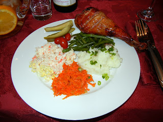 My yummy food on Christmas