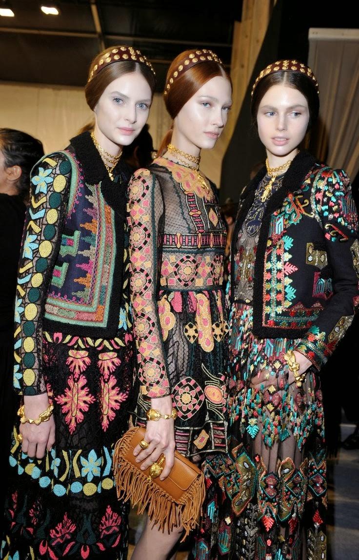 подушка вышивка схема этнический стиль