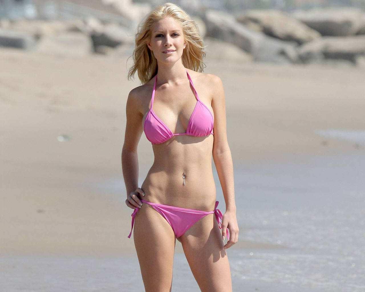 What Heidi montag bikini