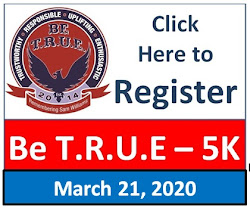 2020 Be T.R.U.E. 5K REGISTER HERE