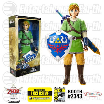 "San Diego Comic-Con 2015 Exclusive Legend of Zelda: Skyward Sword ""Metallic"" Link 20"" Action Figure"
