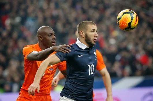 France 2-0 Pas-Bas