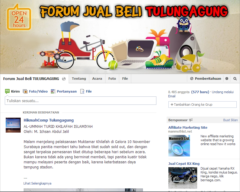 Forum Jual Beli Tulungagung