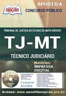 Apostila Concurso Tribunal de Justiça do (MT) 2015.