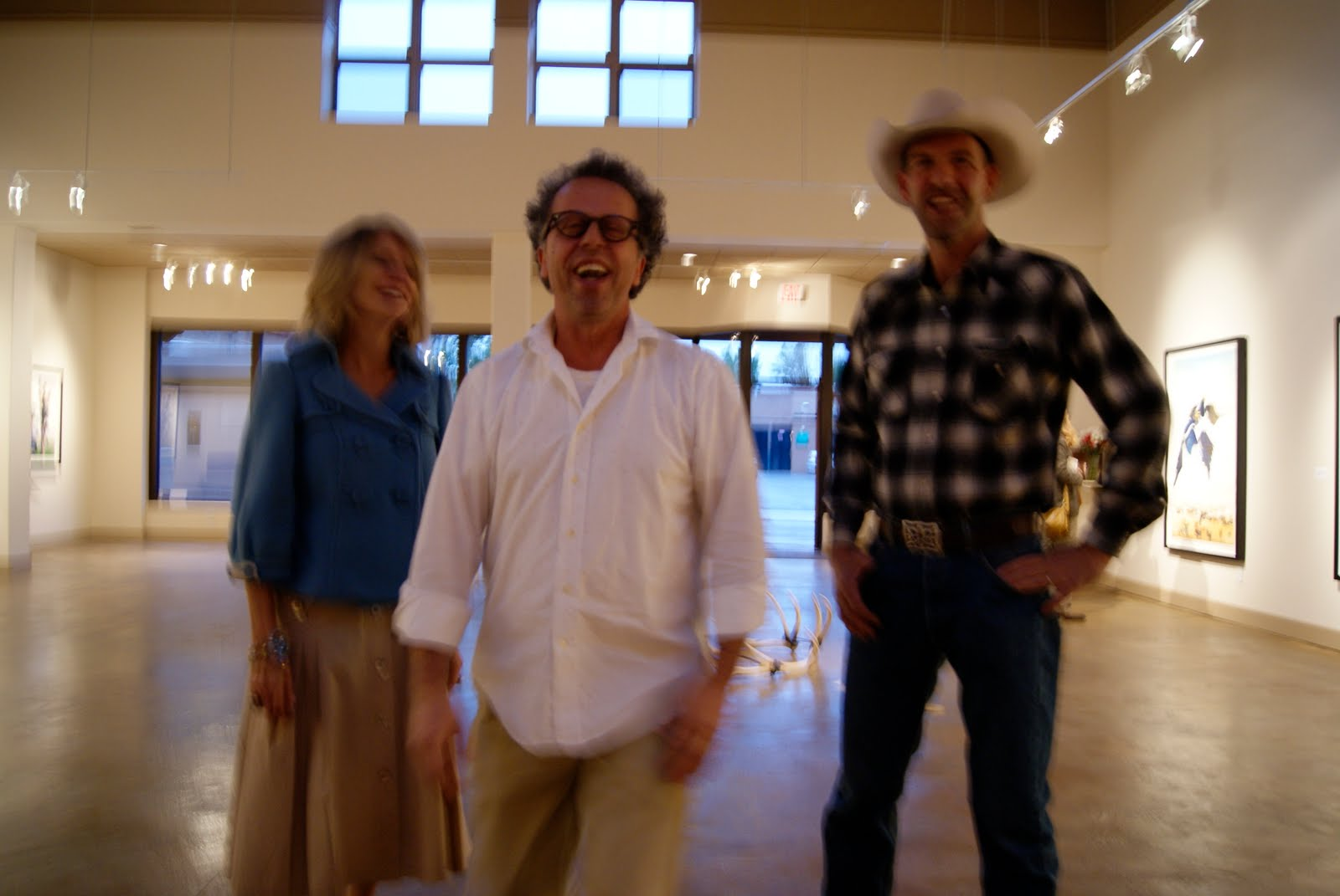 marji gallery contemporary projects  marji hoyle saher saman taylor mott just before the opening on friday night posted by marji gallery santa fe