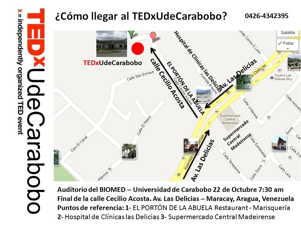 Tedxudecarabobo afiche del tedxudecarabobo for Como llegar al ministerio del interior