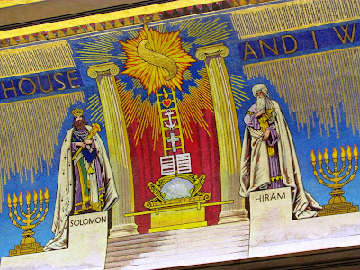 Freemasons, The United Grand Lodge, London, temple, King Solomon, Ark of the Covent, Jacobs Ladder