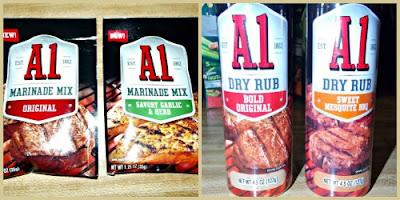 A1 Marinade mix dry rub