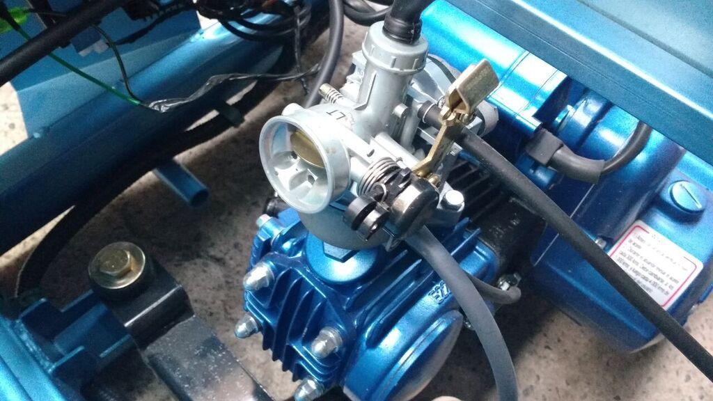 Carburador triciclo de carga bencinero