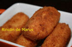 CROQUETAS DE POLLO Y JAMN