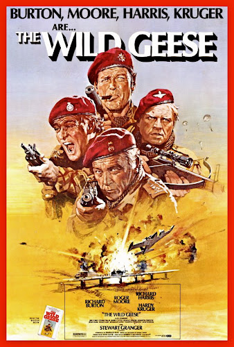 Poster Of The Wild Geese 1978 Full Movie Download 300MB In Hindi English Dual Audio 480P ESubs Compressed Small Size Pc Movie
