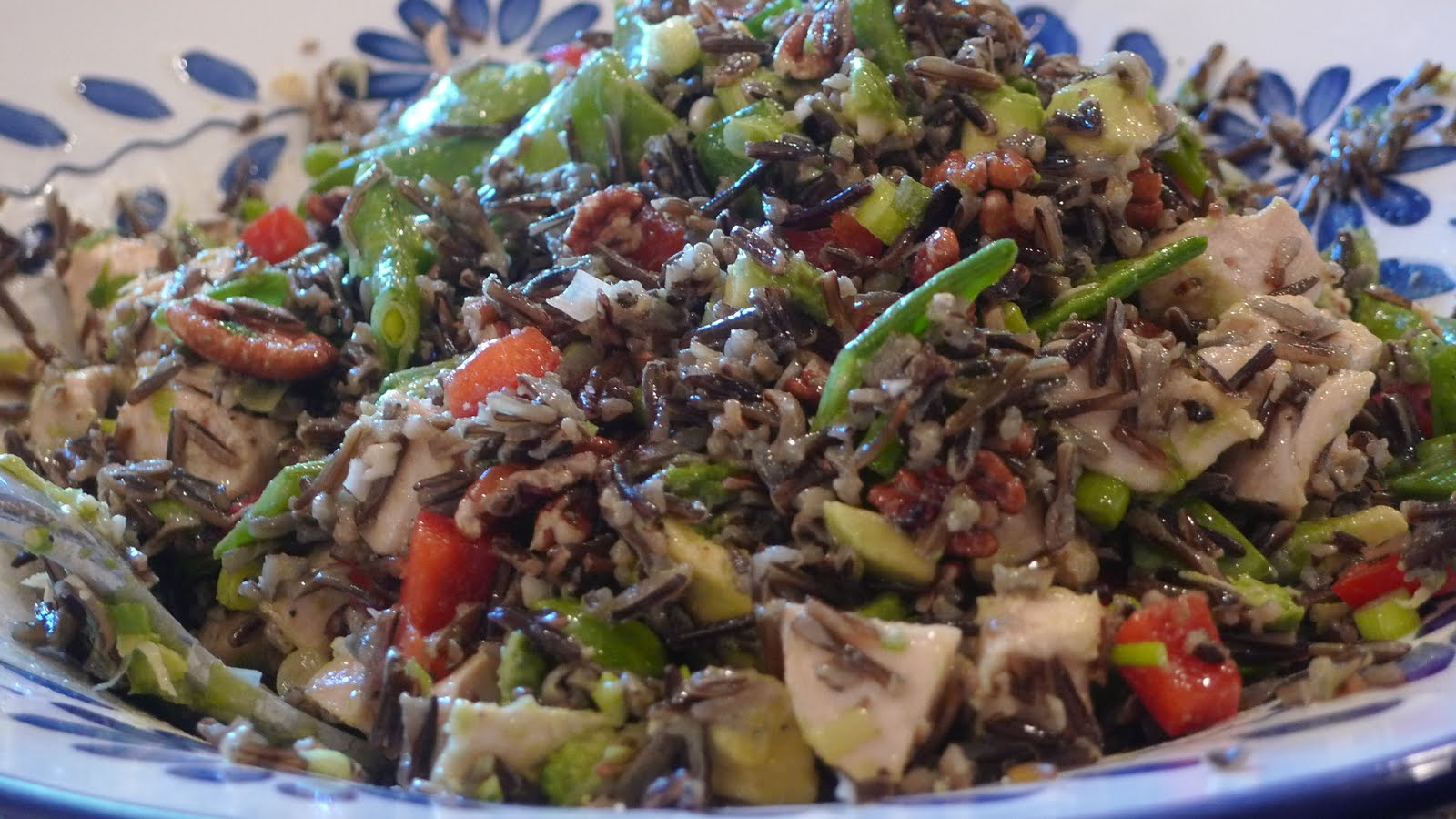 siriously delicious: Trish's Wild Rice Salad