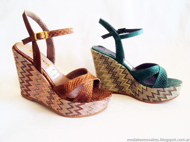 Sandalias 2015. Moda zapatos primavera verano 2015.