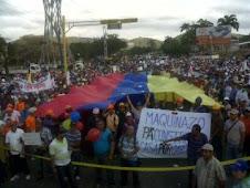 PROTESTAMOS ENERGICAMENTE EL ABUSO DE LA OPOSICION AL CERCENAR EL DERECHO AL LIBRE TRANSITO