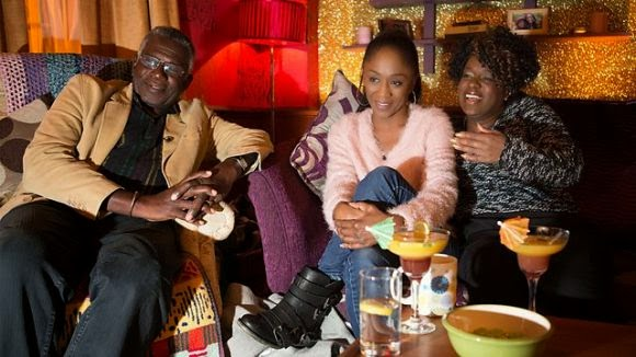 Diane Parish, Rudolph Walker & Tameka Empson