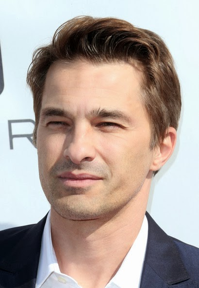 Olivier Martinez Finger Wave Hairstyle