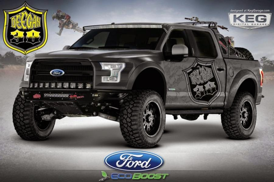 Ford F-150 SuperCrew Deegan 38 (2015) Front Side