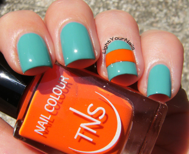TNS Accent Manicure: That's Amore + Life in Colour