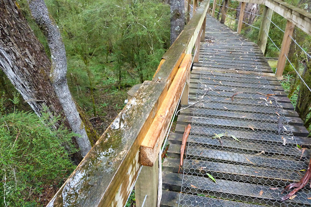 repaired handrail on ralphs bridge