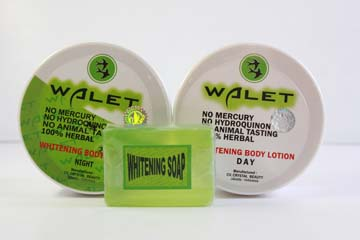 Walet Whitening Body Cream