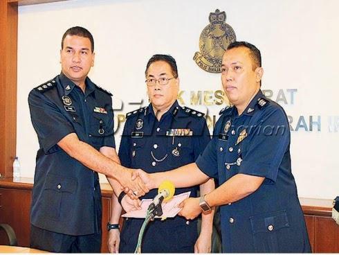 Pegawai Baru D7 IPK Perak Dilantik