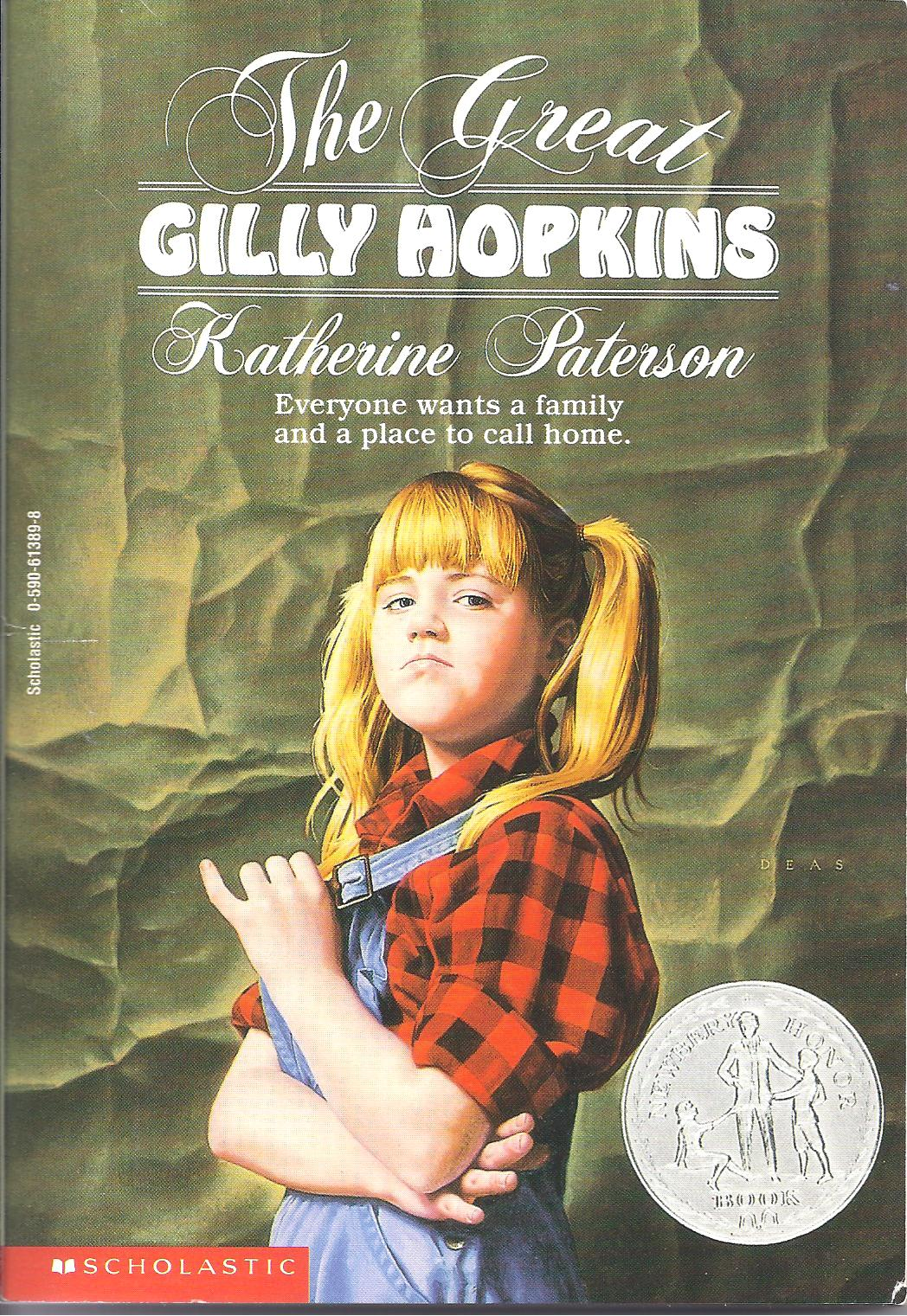 a review of the themes in the great gilly hopkins by katherine paterson This post contains an affiliate link title: the great gilly hopkins by katherine paterson notable: newbery honor book, 1979 premise: gilly hopkins is in.