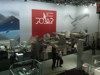 polar showcase equipment at drupa print media fair 2012
