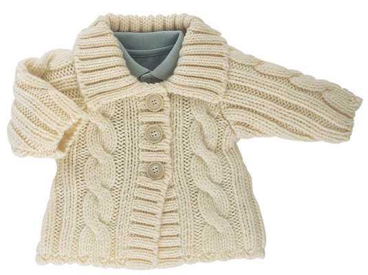 free knitting pattern: free baby knitting