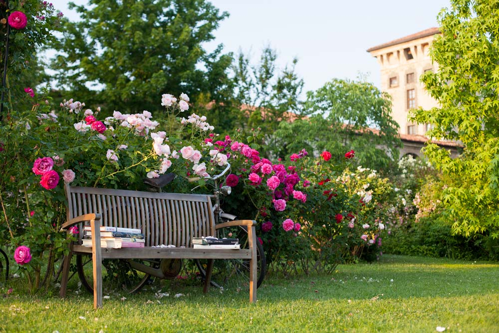 Righeblu: Ideeweekend nel giardino senza tempo