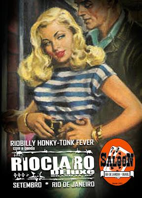 Riobilly Honky Tonk Fever com a banda Rio Claro