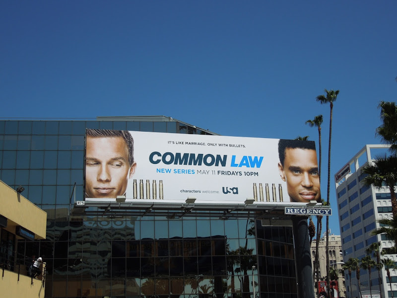 Common Law season 1 billboard