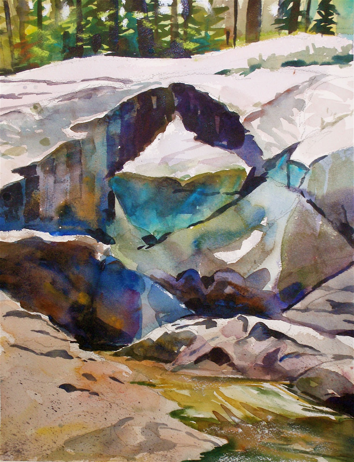 David Lobenberg: Plein Air Watercolor Painting and Canine