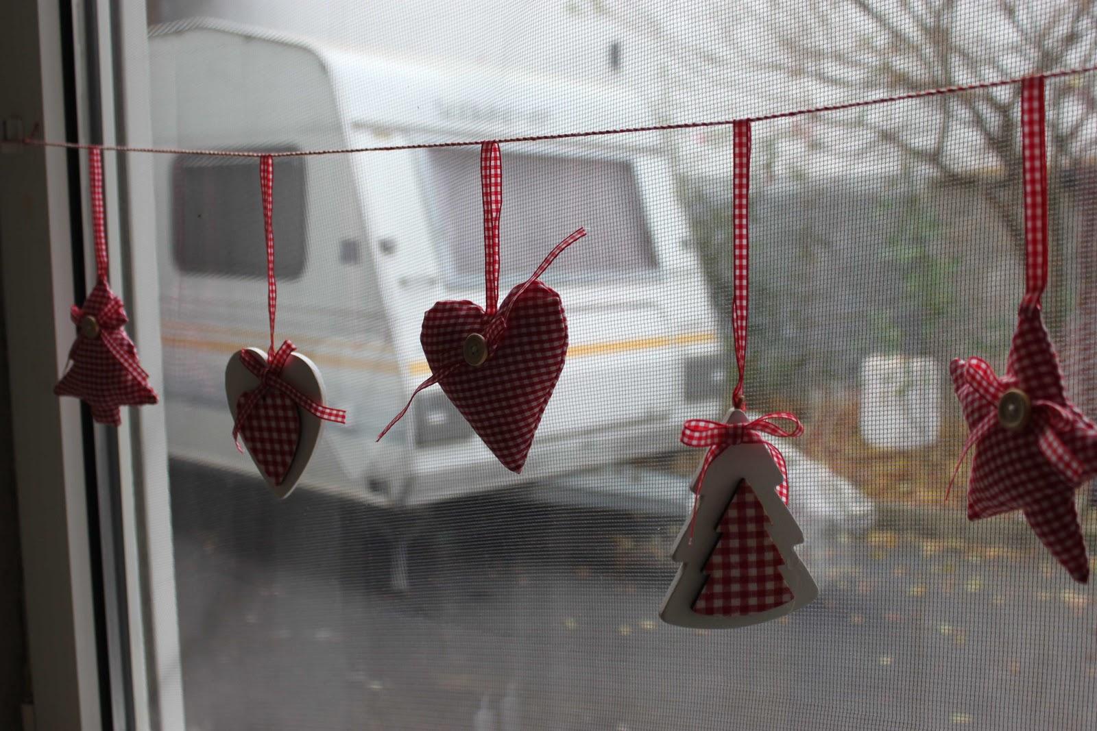 Country-Cottage: Weihnachtlich dekoriert