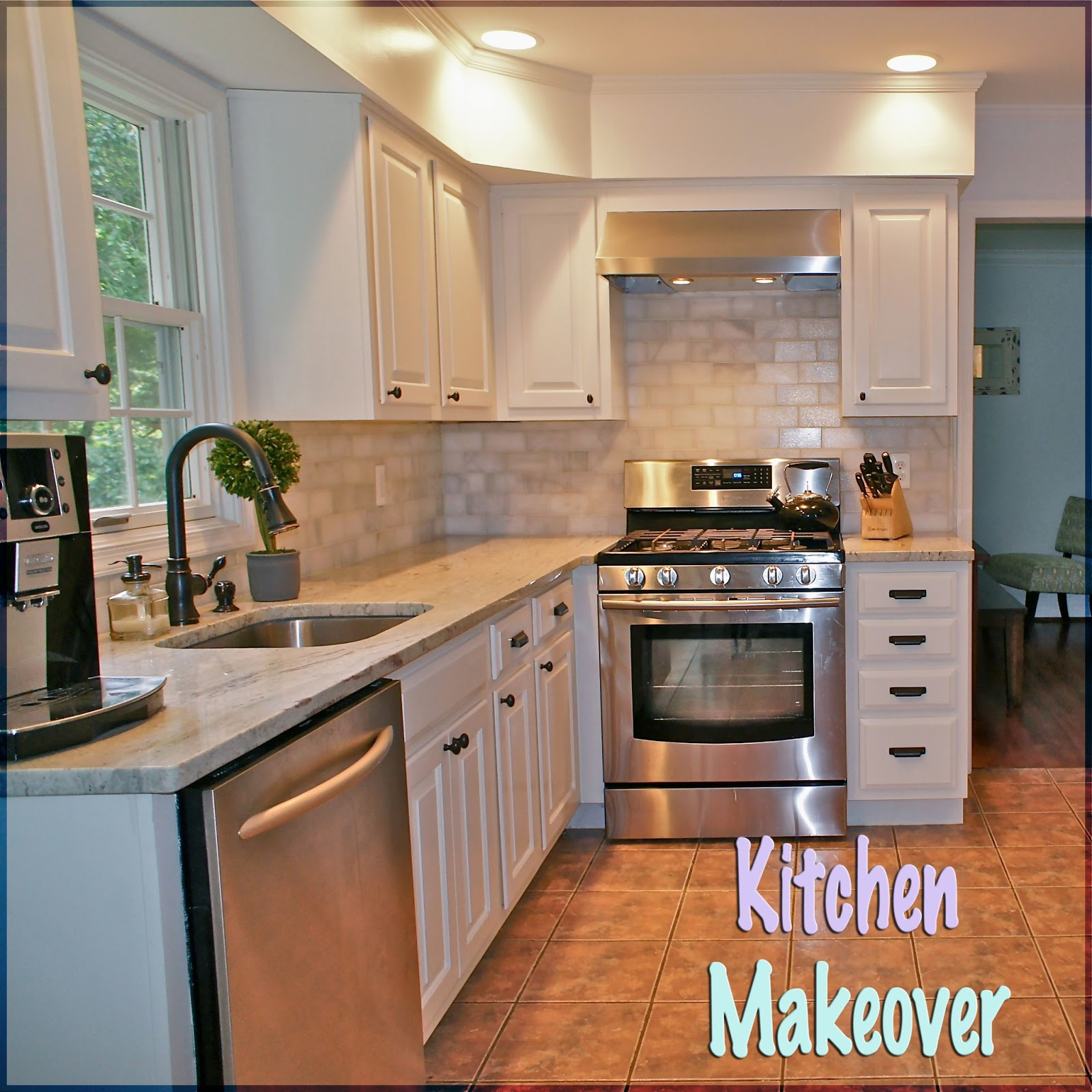 Kitchen makeover for Kitchen kitchen