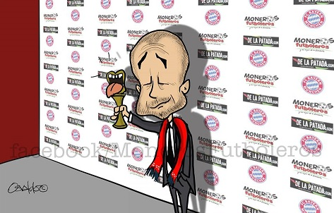 Guardiola fue presentado en el Bayern Munich
