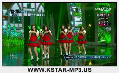 [Performance] APRIL - Dream Candy @ M! Countdown 2015.09.10