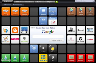 screenshot of a symbaloo account